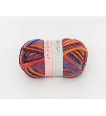 Printed merino yarn. 100% wool.