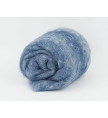 Carded merino wool