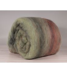 Multicolor australian carded wool