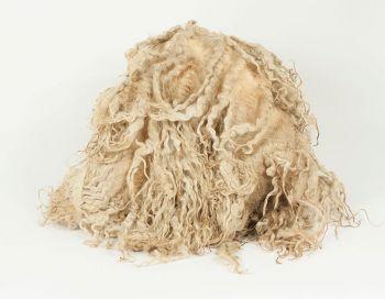 Raw Masham fleece & lokcs