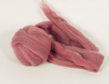 Multicolor wool roving