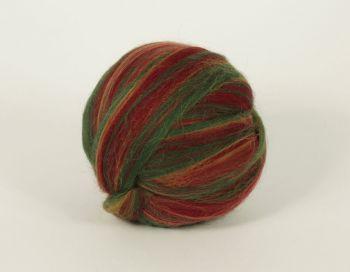 Multicolor felting wool