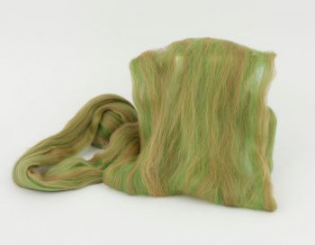 Multicolor felting wool