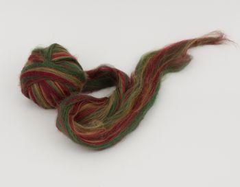 Мултиколор вълна за плъстене